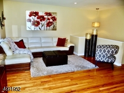 Amazing Living Room with Beautiful Hardwood floors throughout home