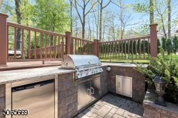 with Grill, Fridge and Sink