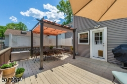 Large deck for entertaining or quiet time