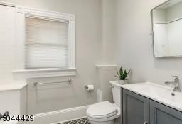 Renovated Hall Bath