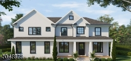 Front Elevation with optional stucco finish.
