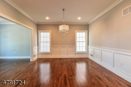 Sample of finished dining room