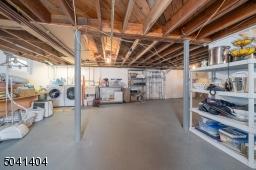 Storage, Mechanicals, Laundry Area