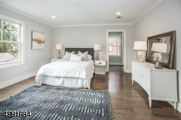 Large and bright master bedroom.