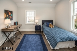 Spacious additional bedroom on the second level.