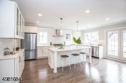 Beautiful kitchen space.