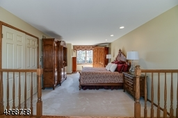 Expansive master with two walk in closets