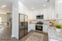 Thoughtfully designed kitchen.