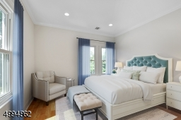 Sunny front bedroom (virtually staged)