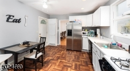 Eat In kitchen with access to backyard