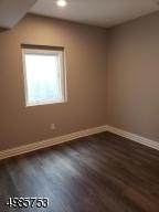 Bonus basement bedroom with casement window