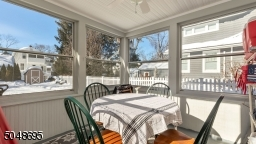 Enclosed outdoor porch