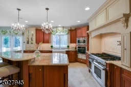 Thermodor Stainless Steel Appliances with luminary Blue Lighting