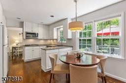 Eat in kitchen opens to family room