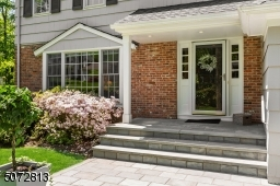 Beautiful front patio welcomes you home