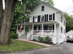 Classic colonial with wrap around porch
