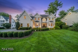 Custom Colonial on beautifully landscaped level lot.