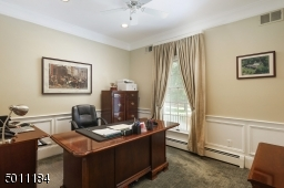 Did I mention there is a home office with chair moldings, quiet and perfect for all those Zoom calls!