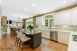Sharp White and Extraordinary Sized Kitchen with large walk in pantry.
