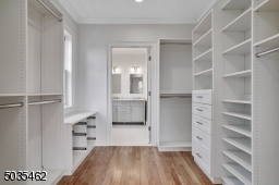 Walk-in-closet leading to Master Bath