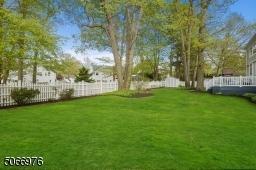Fully fenced in rear level yard