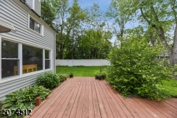 Ground-level with separate entrance to backyard. Private  Fully vinyl fenced yard,