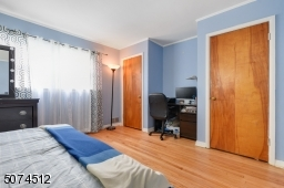 Master Bedroom with 2 Closets. Bright and Airy