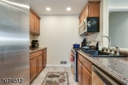 Kitchen with Recess lighting