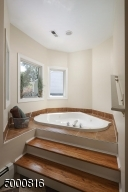 Jetted spa tub