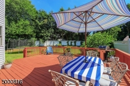 Fully fenced; mature trees provide privacy