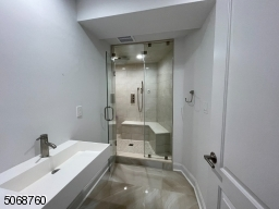 Shower and Steam Room.