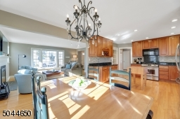 There is great space in the kitchen dining area for a large table...room for everyone!