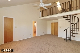Large and Bright with New Carpeting! View of Loft.