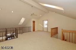 Skylight, Window and High Ceiling in this Bonus Room!