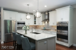 Outfitted with all SS appliances, including the upgraded Viking french door refrigerator.