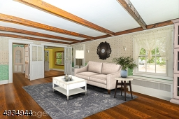 Extra large living room (virtually staged)