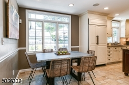 Breakfast Nook with Large Windows.