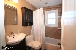 Updated Bathroom; window for light and ventilation