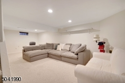 Great space for movie night or games!