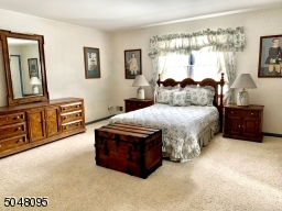 Large Master Bedroom w/Walk-In Closet and Two Double Closets