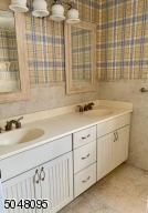Double Sinks, Shower Stall