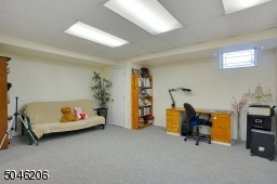This room makes a great recreation room.
