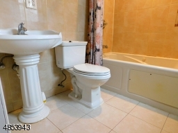 Renovated bathroom with jetted tub