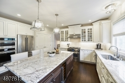 EVERY FEATURE IS OF TOP GRADE  JENN AIR STAINLESS APPLIANCES, FLOORING, CABINETRY
