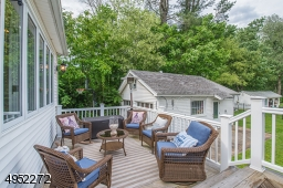 Located at the end of the Dining Room and perfectly  positioned for optimal views over the yard