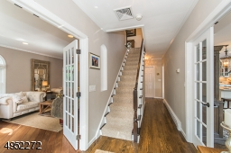Traditional colonial with welcoming Foyer - Living Room to left and Family Room to right