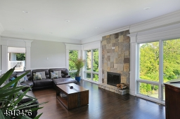 View and  Fire Place