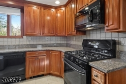 Granite countertops, newer cabinets