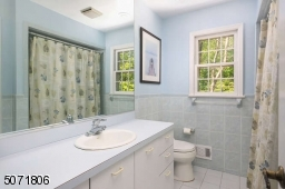 Shared bath on second floor.