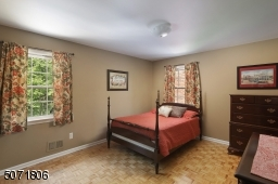 Parkay floors and decorative molding.